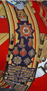 Guards sash